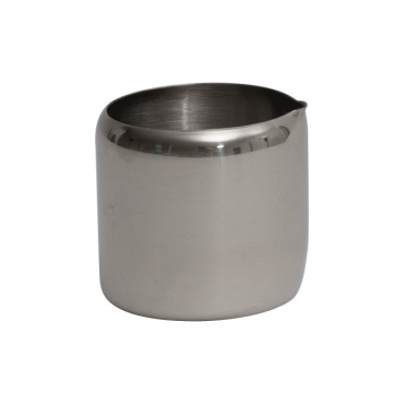 Stainless Steel Cream Tot 95ml 3oz | Pack of 6