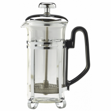 3 Cup Cafetiere with a Non-Pyrex Glass 300ml 11oz