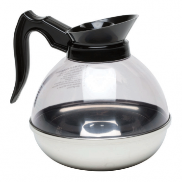 Polycarbonate Shatterproof Coffee Decanter 1.9L 64oz