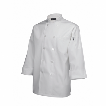 Long Sleeve Standard Chef's Jacket - White