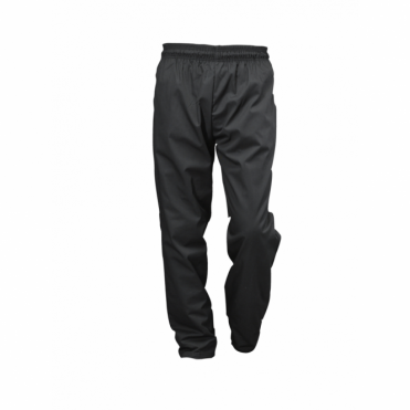 Black Baggie Chef's Trousers