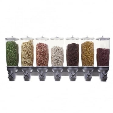 DH70 Pro Serve Exclusive 7 Compartment Wall Mounted Cereal Dispenser