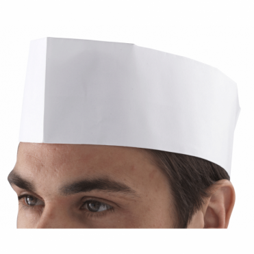 Chef's Disposable Paper Forage Hat | Pack of 100