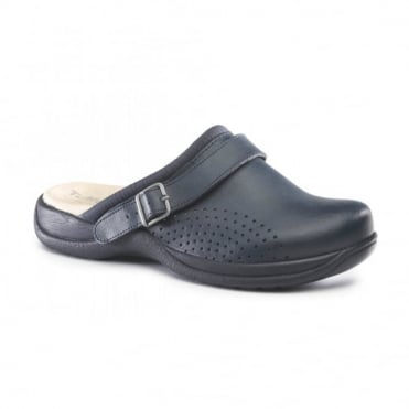 UltraLite Unisex Partly Perforated Comfort Shoe with Heel Strap