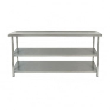 Stainless Steel Table with 2 Undershelf
