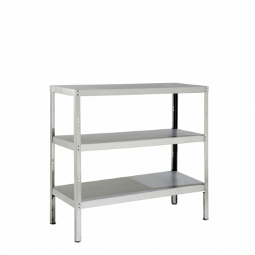 Stainless Steel Storage Rack with 3 Shelves