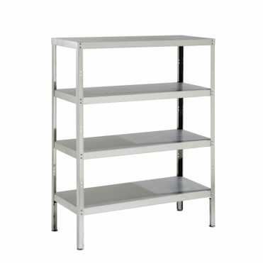 Stainless Steel Storage Rack with 4 Shelves