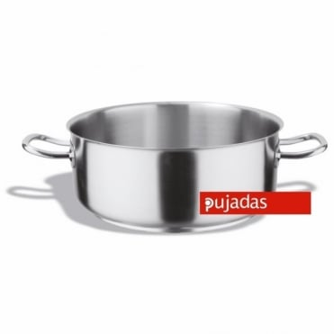 Stainless Steel 19.5 Litre Casserole Pan 40cm