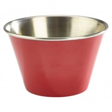 Red Stainless Steel Ramekin 170ml 6oz | Pack of 12