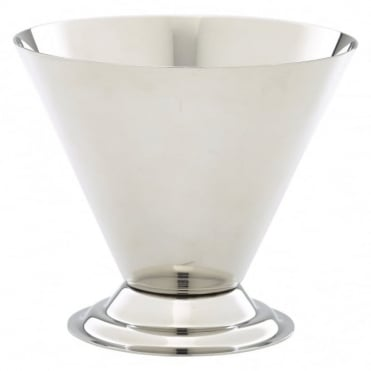 Stainless Steel Conical Sundae Cup 270ml