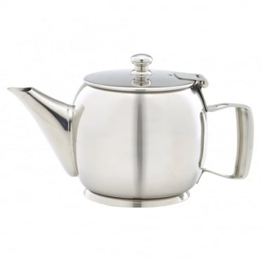 Stainless Steel Premier Teapot 400ml 14oz