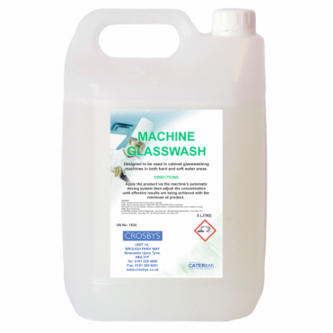Machine Glasswash Detergent 5 Litre