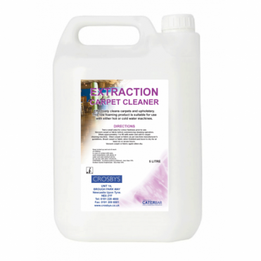 Extraction Carpet Cleaner 5 Litre