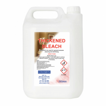 Crosbys Thickened Bleach 5 Litre