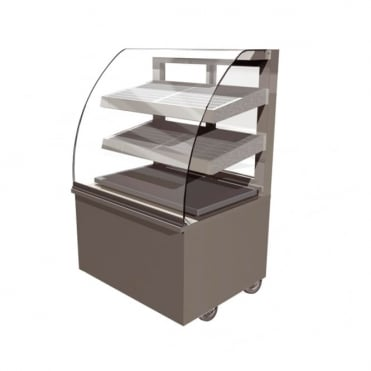 Vision Heated Back Service Free Standing Display 600mm