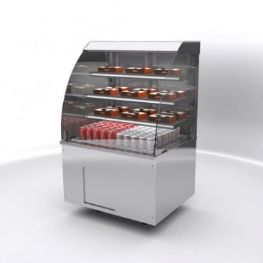 Vision Chilled Self Service Free Standing Display 900mm