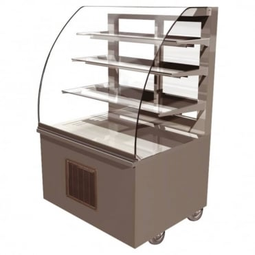 Vision Chilled Back Service Free Standing Display 1300mm