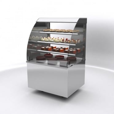 Vision Ambient Back Service Free Standing Display 600mm