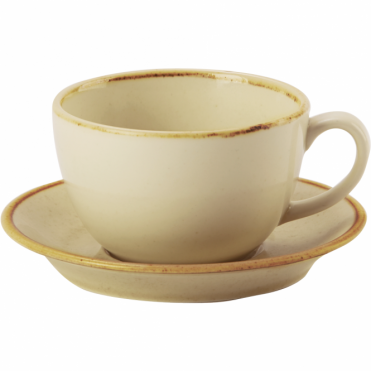 Seasons Wheat 340ml Cup & Saucer | Pack of 6