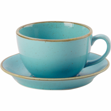 Seasons Sea Spray 250ml Cup & Saucer | Pack of 6