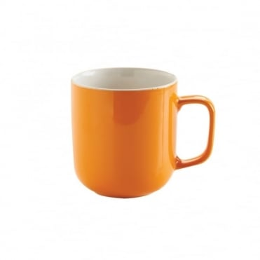 14oz Gloss Brights Orange Mug | Pack of 12