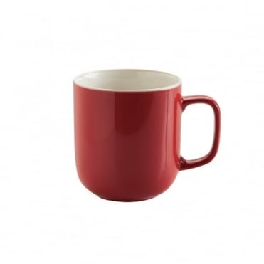 14oz Gloss Brights Red Mug | Pack of 12