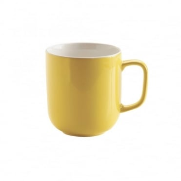 14oz Gloss Brights Yellow Mug | Pack of 12