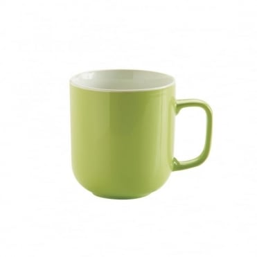 14oz Gloss Brights Green Mug | Pack of 12