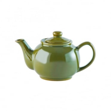 Brights Olive Green 2 Cup 16oz Teapot | Pack of 3