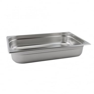 Stainless Steel Gastronorm Pan 1/1 - 530 x 325mm
