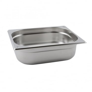 Stainless Steel Gastronorm Pan 1/2 - 325 x 265mm