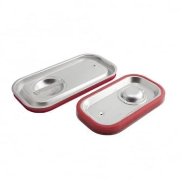 Stainless Steel Gastronorm Sealing Lid 1/4
