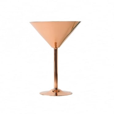 Copper Martini Glass 260ml