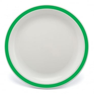 Emerald Green Polycarbonate Duo 17cm Plate