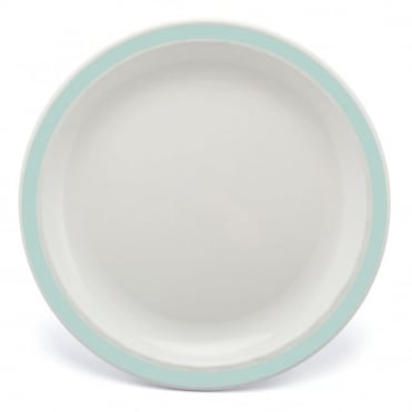 Grey Green Polycarbonate Duo 17cm Plate