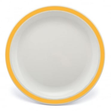 Yellow Polycarbonate Duo 17cm Plate