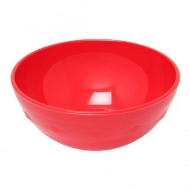 Red Polycarbonate 10cm Bowl