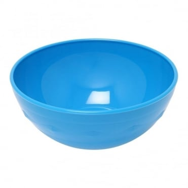 Medium Blue Polycarbonate 10cm Bowl