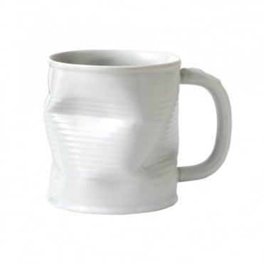 White Squashy Mug 320ml (Large) | Pack of 6