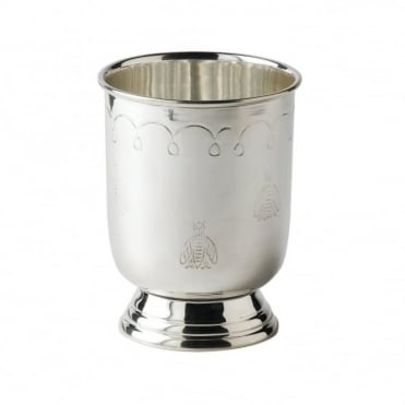 Silver Plated 'Prince' Julep Cup with Barflies 350ml / 12.25oz