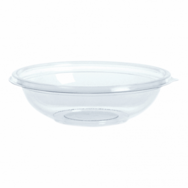Classic Small Round Disposable Plastic Bowl 14cm 250ml