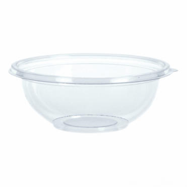 Classic Small Round Disposable Plastic Bowl 14cm 375ml