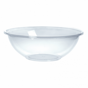 Classic Medium Round Disposable Plastic Bowl 18.5cm 1000ml