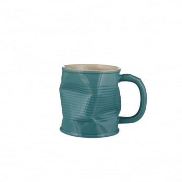 Turquoise Squashy Mug 220ml (Medium) | Pack of 6