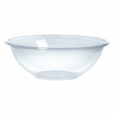 Classic Large Round Disposable Plastic Bowl 23cm 1.5 Litre