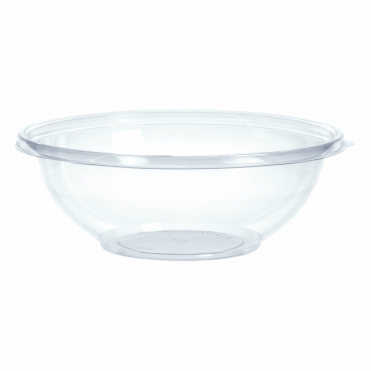 Classic Large Round Disposable Plastic Bowl 26cm 2.25 Litre