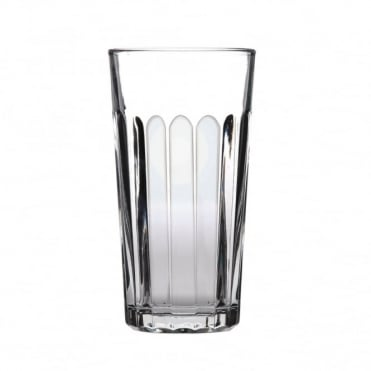 Paneled Beer Glass 570ml | CE Marked 1 Pint | Pack of 24
