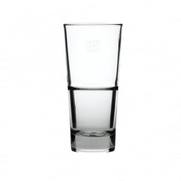 Endeavor Beverage Tumbler Glass 350ml | CE Lined 1/2 Pint | Pack of 12
