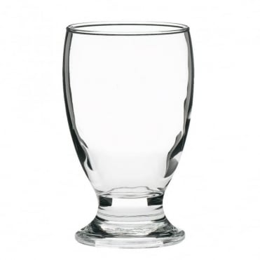 Brussels Tumbler Glass 350ml | CE Marked 1/2 Pint | Pack of 6