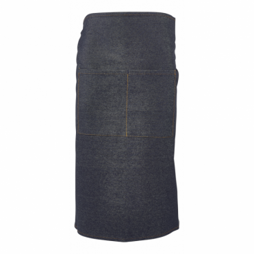 Washed Denim Waist Apron 90cm x 70cm